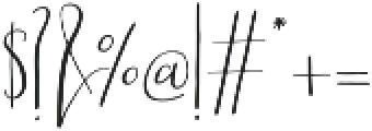 Scatter Sunshine Script otf (400) Font OTHER CHARS