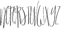 Scatter Sunshine Script otf (400) Font UPPERCASE
