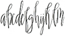 Scatter Sunshine Script otf (400) Font LOWERCASE