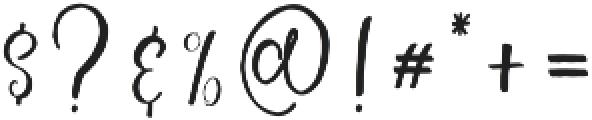 Schiffen Script Regular ttf (400) Font OTHER CHARS