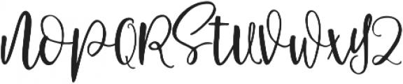 Schiffen Script Regular ttf (400) Font UPPERCASE