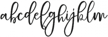 Schiffen Script Regular ttf (400) Font LOWERCASE