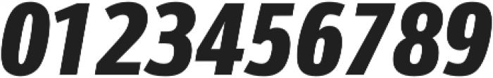 Schnebel Sans Pro Comp Black Italic otf (900) Font OTHER CHARS