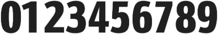 Schnebel Sans Pro Comp Black otf (900) Font OTHER CHARS