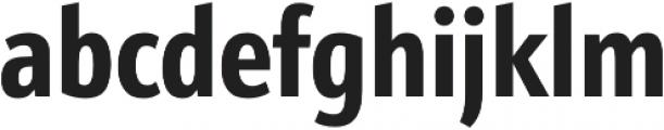 Schnebel Sans Pro Comp Bold otf (700) Font LOWERCASE
