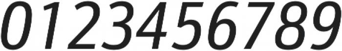 Schnebel Sans Pro Cond Italic otf (400) Font OTHER CHARS