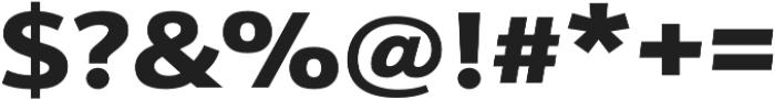 Schnebel Sans Pro Expand Black otf (900) Font OTHER CHARS
