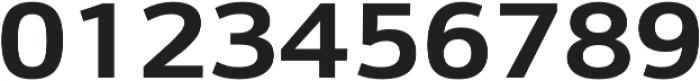 Schnebel Sans Pro Expand Bold otf (700) Font OTHER CHARS