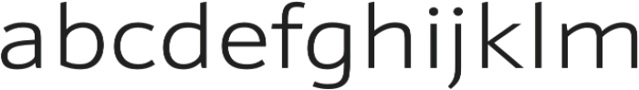 Schnebel Sans Pro Expand Light otf (300) Font LOWERCASE