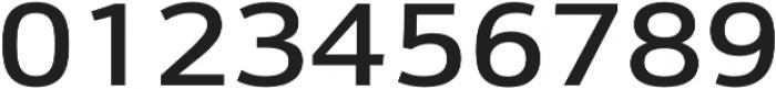 Schnebel Sans Pro Expand Medium otf (500) Font OTHER CHARS