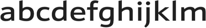 Schnebel Sans Pro Expand Medium otf (500) Font LOWERCASE