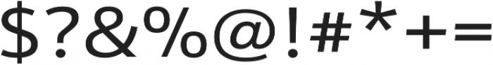 Schnebel Sans Pro Expand Regular otf (400) Font OTHER CHARS