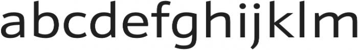 Schnebel Sans Pro Expand Regular otf (400) Font LOWERCASE