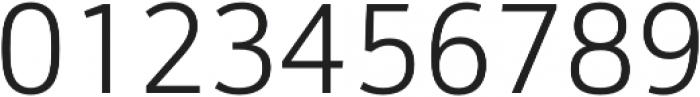 Schnebel Sans Pro Light otf (300) Font OTHER CHARS