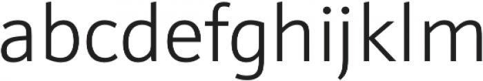 Schnebel Sans Pro Light otf (300) Font LOWERCASE