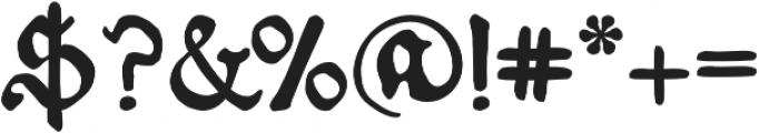 Schoensperger der Altere otf (400) Font OTHER CHARS