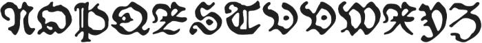 Schoensperger der Altere otf (400) Font UPPERCASE