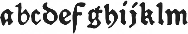 Schoensperger der Altere otf (400) Font LOWERCASE
