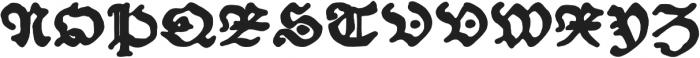 Schoensperger der Altere otf (700) Font UPPERCASE