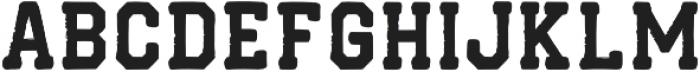 SchoolStop otf (400) Font UPPERCASE