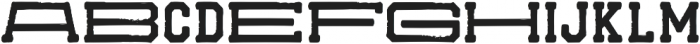 SchoolStop otf (400) Font LOWERCASE
