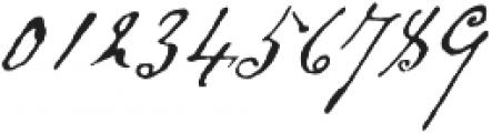 Schooner Script otf (400) Font OTHER CHARS