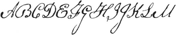Schooner Script otf (400) Font UPPERCASE