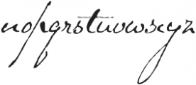 Schooner Script otf (400) Font LOWERCASE