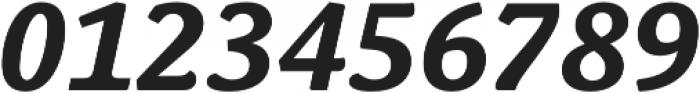 Schuss News Pro Bold Italic otf (700) Font OTHER CHARS