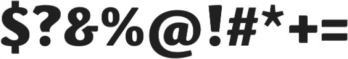 Schuss News Pro Heavy otf (800) Font OTHER CHARS