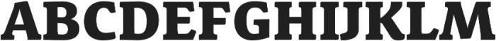 Schuss News Pro Heavy otf (800) Font UPPERCASE