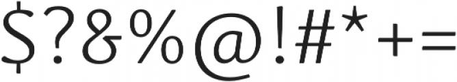 Schuss News Pro Light otf (300) Font OTHER CHARS
