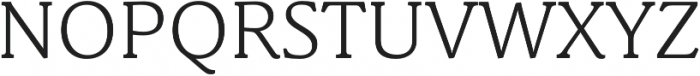 Schuss News Pro Light otf (300) Font UPPERCASE