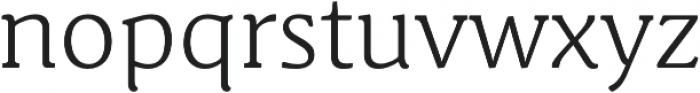 Schuss News Pro Light otf (300) Font LOWERCASE