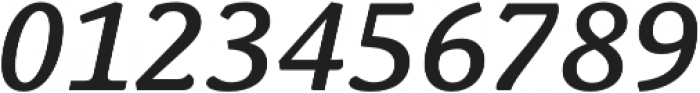 Schuss News Pro Medium Italic otf (500) Font OTHER CHARS