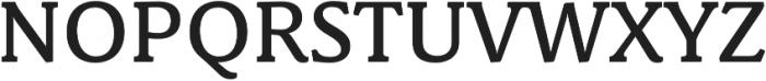 Schuss News Pro Medium otf (500) Font UPPERCASE