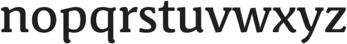 Schuss News Pro Medium otf (500) Font LOWERCASE