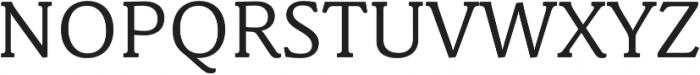 Schuss News Pro Regular otf (400) Font UPPERCASE