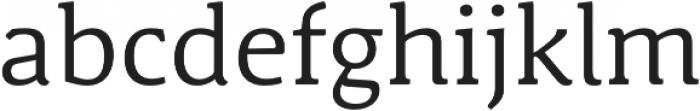 Schuss News Pro Regular otf (400) Font LOWERCASE