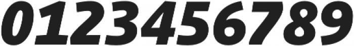 Schuss Sans PCG Heavy Italic otf (800) Font OTHER CHARS