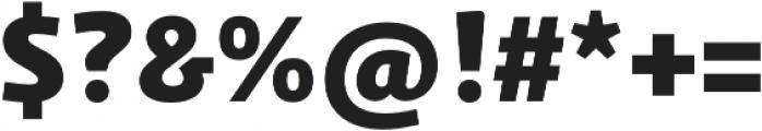 Schuss Sans PCG Heavy otf (800) Font OTHER CHARS