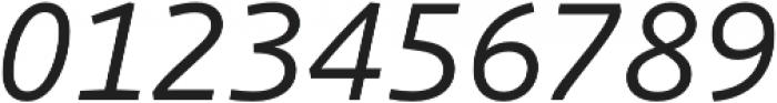 Schuss Sans PCG Italic otf (400) Font OTHER CHARS