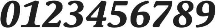 Schuss Serif Pro Bold Italic otf (700) Font OTHER CHARS