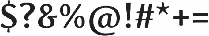 Schuss Serif Pro Medium otf (500) Font OTHER CHARS