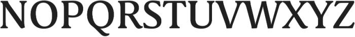Schuss Serif Pro Medium otf (500) Font UPPERCASE