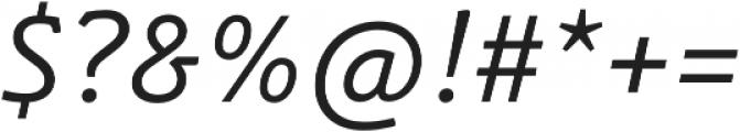 Schuss Slab Pro Italic otf (400) Font OTHER CHARS