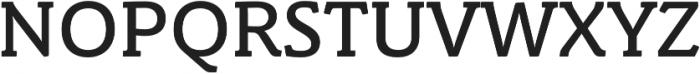 Schuss Slab Pro Medium otf (500) Font UPPERCASE