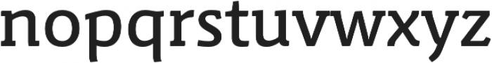 Schuss Slab Pro Medium otf (500) Font LOWERCASE