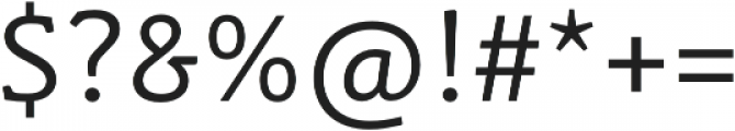 Schuss Slab Pro Regular otf (400) Font OTHER CHARS