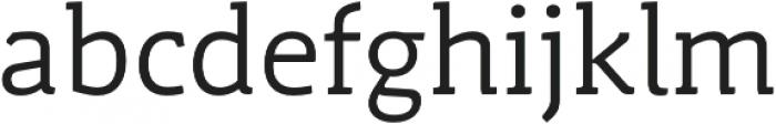 Schuss Slab Pro Regular otf (400) Font LOWERCASE